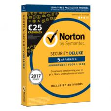 Norton Security Deluxe 5-toestellen 1 jaar