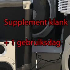 Klank - Extra gebruiksdag