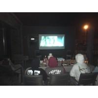 Bioscoopset MAXI (beamer+scherm+klank)