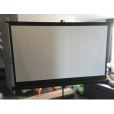 Projectiescherm 158x89 cm