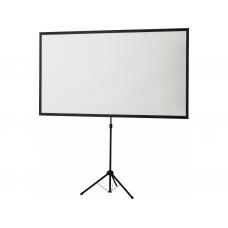 Projectiescherm 177x100 cm - Extra licht