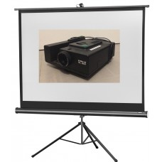 Diaprojector + projectiescherm