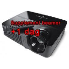 Beamer - Extra gebruiksdag