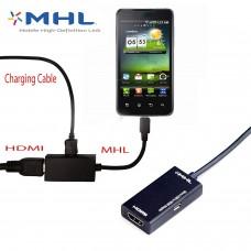 Smartphone (micro usb) naar HDMI convertor