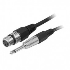 XLR of Jack 6,5 kabel (set 20 kabels)