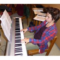 Yamaha P85S (Stage piano)